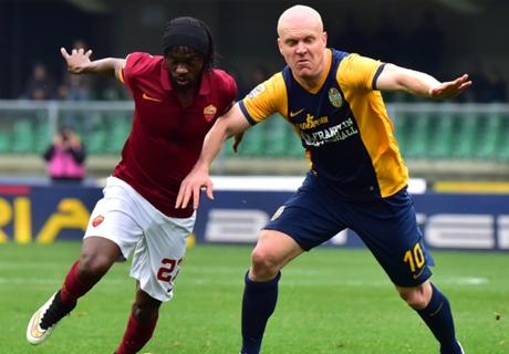 Laporan: Verona 1-1 Roma