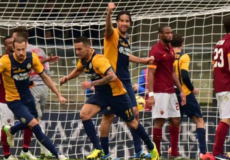 Match Report: Verona 1-1 Roma
