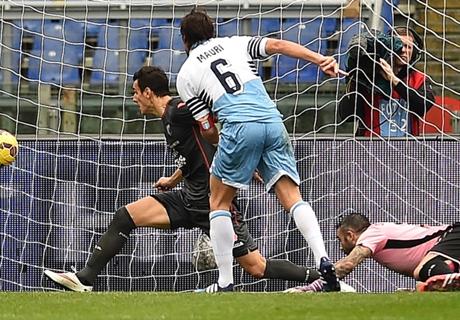 Serie A: Lazio 2-1 Palermo