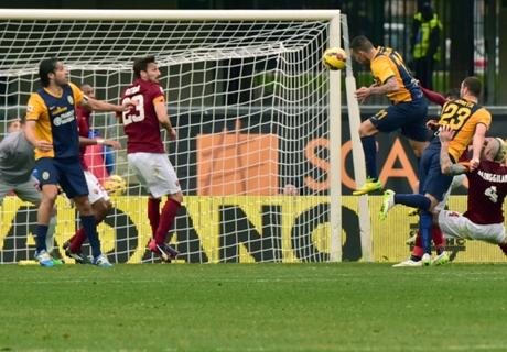 Player Ratings: Hellas Verona 1-1 Roma
