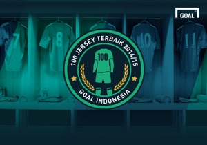 100 Jersey Terbaik 2014/15 Goal Indonesia