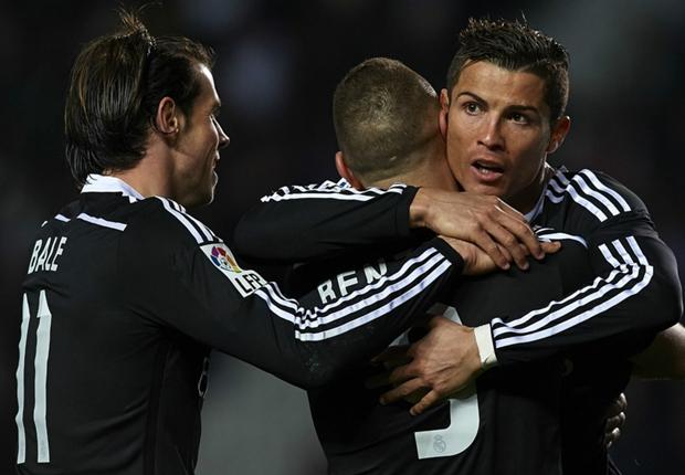 Elche 0-2 Real Madrid : le Real prend ses distances