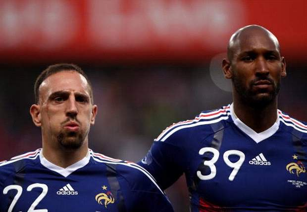 France FA Bans Nicolas Anelka, Patrice Evra, Franck Ribery, And Jeremy Toulalan