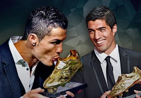 Goldener Schuh: Messi und CR7 treffen