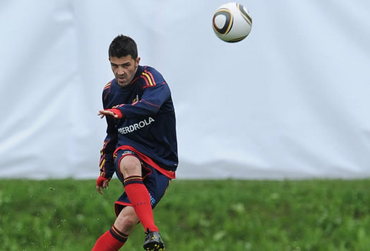 David Villa, Spain (Getty Images)