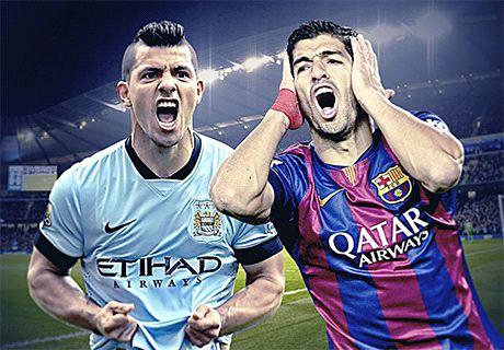 Transfer Talk: City eye Aguero-Suarez swap