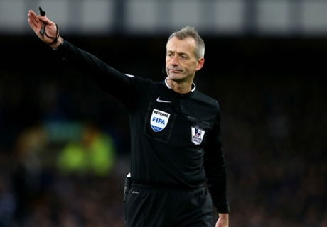 No break for referee Atkinson
