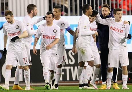 Serie A: Inter siegt glücklich