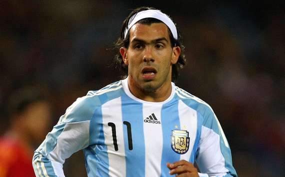 Carlos Tevez, Argentina (Getty Images)