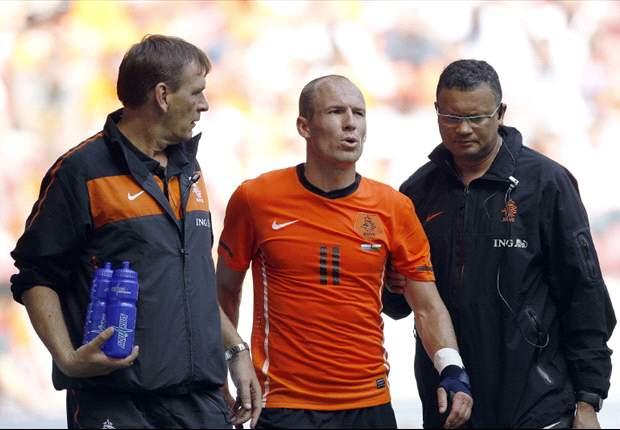 Arjen Robben fehlt gegen Dänemark
