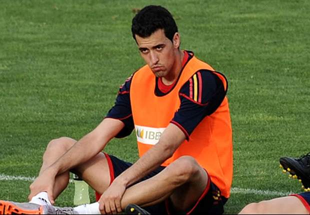 Spain midfielder Busquets likely to start against Croatia despite suffering from concussion