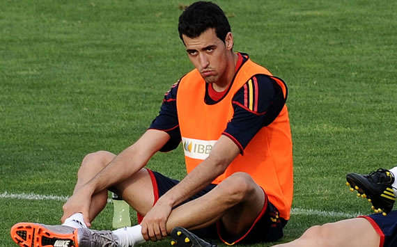 Sergi Busquets, Spain (Getty Images)
